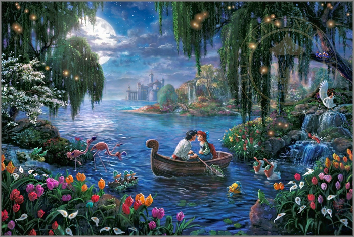 Little Mermaid II by Thomas Kinkade Studios