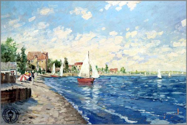 Thomas Kinkade - Summer Breeze - Girrard Collection