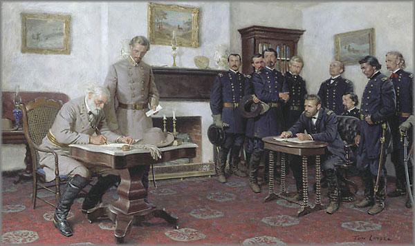 Tom Lovell - Surrender at Appomattox