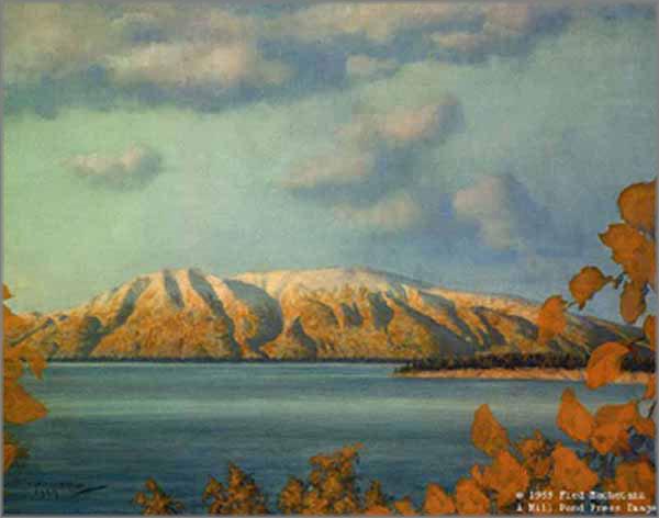Fred Machetanz - Across the Inlet