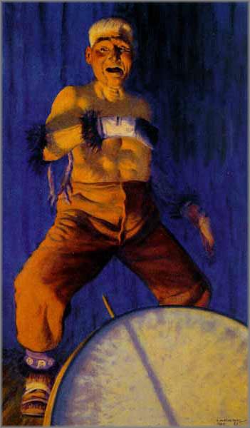 Fred Machetanz - Chief Dances