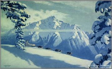 Fred Machetanz - Glory of the Trail
