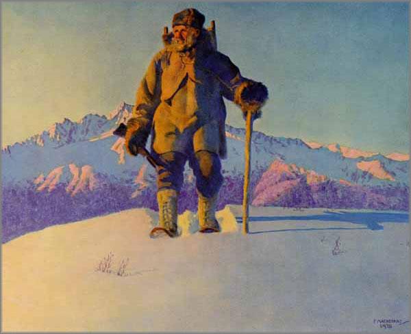 Fred Machetanz - Hunter's Dawn
