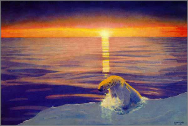 Fred Machetanz - Land of the Midnight Sun