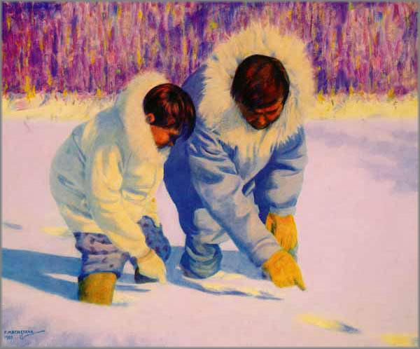Fred Machetanz - Language of the Snow