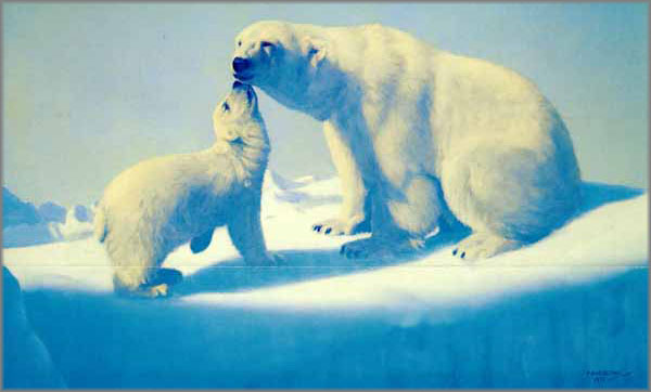 Fred Machetanz - Tender Arctic