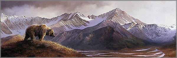 Bonnie Marris - Above the Glacier