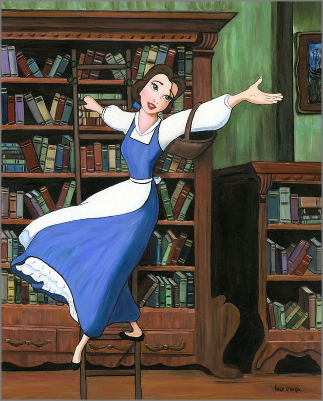 Paige O'Hara, Disney Fine Art limited edition giclee canvases