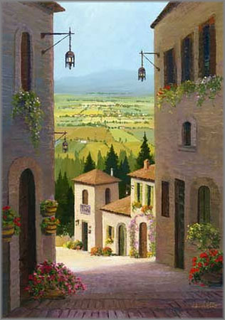 Charles H. Pabst - Assisi View