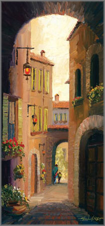 Charles H. Pabst - Back Streets of Assisi