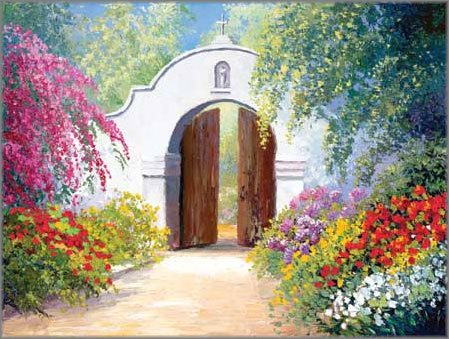 Charles H. Pabst - Bougainvillea Arch