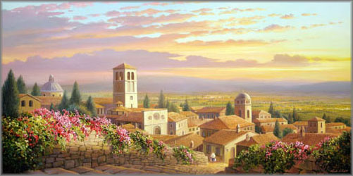 Charles H. Pabst - Color of Assisi