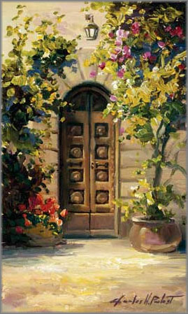Charles H. Pabst - Doorway to Tuscany