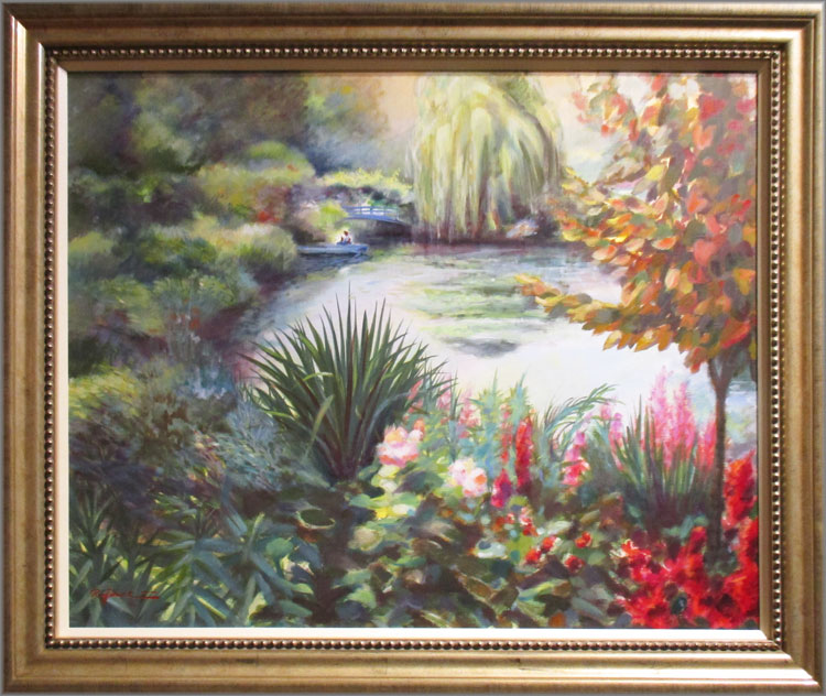 Giverny I - The Garden of Claude Monet by Rolf Rafflewski