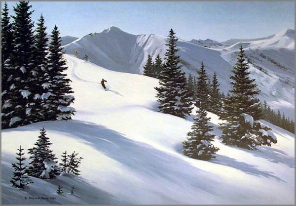 Maynard Reece - Mountain Snow