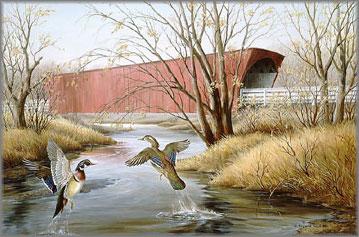 Maynard Reece - Roseman Bridge-Madison County