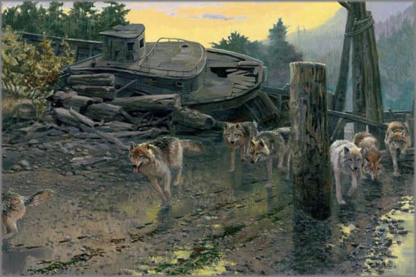 John Seerey-Lester - Beachcombers, The - Wolves