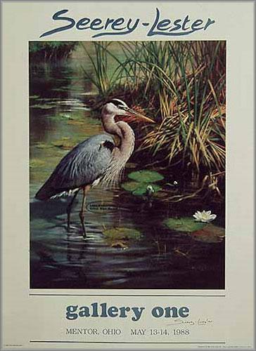 John Seerey-Lester - Lone Fisherman - Great Blue Heron