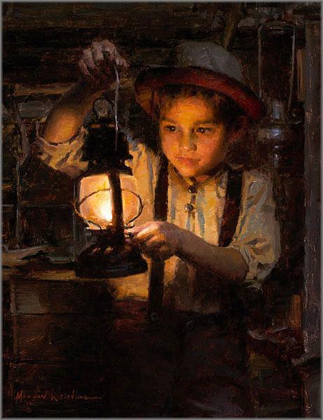 Morgan Weistling - Ethan's Lantern