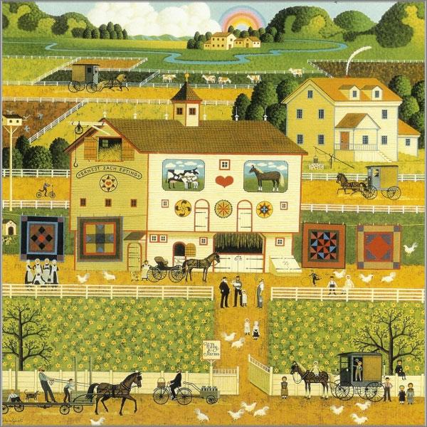 Charles Wysocki - Amish Neighbors