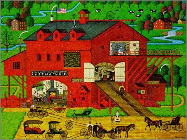 Charles Wysocki - Caleb's Buggy Barn