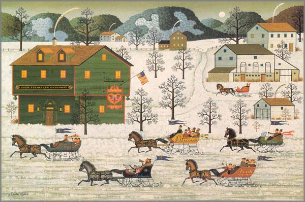 Charles Wysocki - Country Race