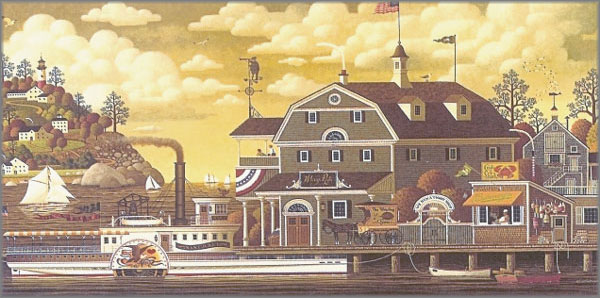 Charles Wysocki - Fairhaven by the Sea