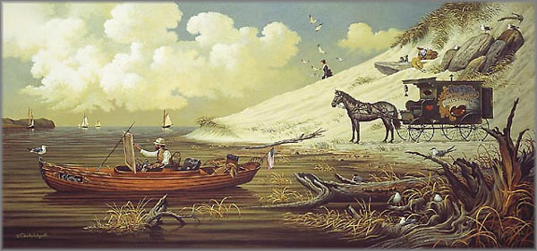 Charles Wysocki - Feathered Critics