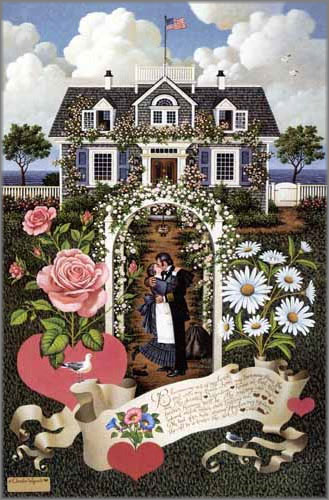 Charles Wysocki - Home is My Sailor