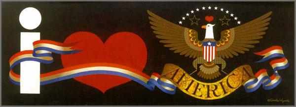 Charles Wysocki - I Love America