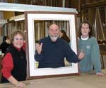 Norah Lynne, Alan and Peggy - Certified Professional Framers at Gallery One