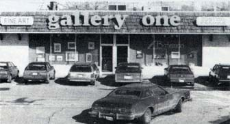 Gallery One, circa 1977