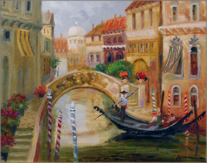 Rowenna Anderson - Venice Canal